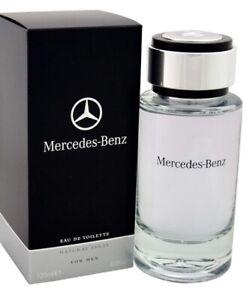 MERCEDES-BENZ EAU DE TOILETTE EDT 120ML SPRAY - MEN'S FOR HIM.