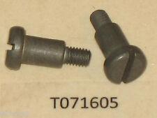 TWO Genuine! HOMELITE 64133-A shoulder bolt, muffler Super EZ Chainsaw NOS! OEM!
