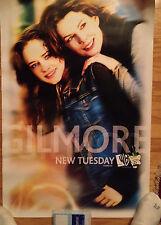 GILMORE GIRLS WB POSTER Lauren Graham ALEXIS BLEDEL  new tuesday