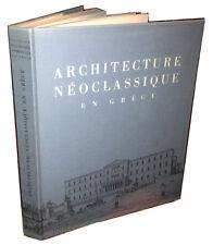 Architecture Néoclassique en Grèce - Athènes 1967, très bon état