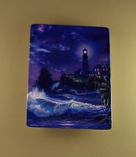 Escape to Paradise SHINING INSPIRATION Plate #1 First Issue Ocean COA Lighthouse