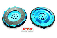 XTR 8.2 LBS ALUMINUM CLUTCH FLYWHEEL LANCER EVOLUTION EVO 4 5 6 7 8 9 2.0L TURBO