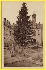 cpa RARE 58 - CHÂTEAU CHINON (Nièvre) L'HÔPITAL ALIGRE Chapelle Jardinier