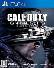 Used PS4 Call of Duty Ghosts  SONY PLAYSTATION 4  JAPANESE JAPONAIS IMPORT