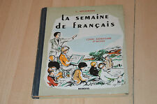 Book week in french/cours elementary and middle - 1954