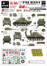 Star Decals 1/35 M4 Sherman 66th Armored Regiment Normandy decal 35989