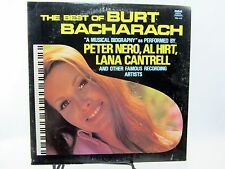 "LP 12"" Record - The Best of Burt Bacharach a musical biography PRS-410 Nero Hirt"