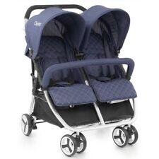 BRANDNEU in Box BabyStyle Oyster Twin Oxford blau mit Regenschutz von Geburt