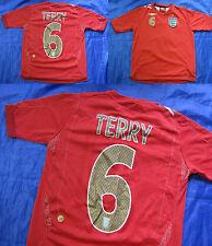 John TERRY #6 ENGLAND WORLD CUP 2006 away shirt jersey UMBRO 2008  BOY L 152 cm