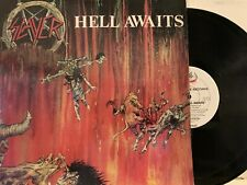 Slayer ‎– Hell Awaits 1985 Metal Blade Records ‎– MBR 1040 Thrash Metal EX