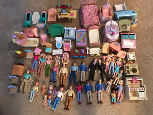 Loving Family dollhouse people and accessories & Others Large Lot