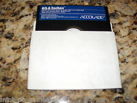 4Th & Inches (PC) Game MS-Dos 5.25 Inch Floppy Disc