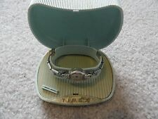 Vintage Timex Wind Up Ladies Watch with the Case - Not Working