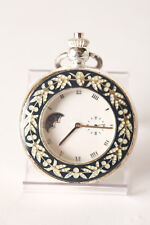 Heritage Collection Pocketwatch with Visible Balance Spring, Floral Decoration