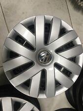 4 cerchi in ferro 6 J15 VW Golf 5 6 7, Plus, Polo USATI con borchie 5x112 et43