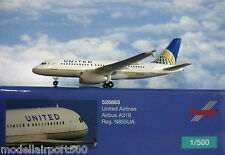 Herpa ALI 1:500 Airbus A319 United Airlines N855UA 526883 modellairport500