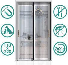 Moustiquaire Magnétique Porte Rideau Anti-Moustiques Aimantée 3 Dimensions
