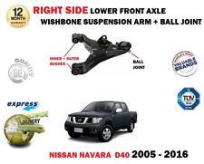 für Nissan Navara D40 Pickup 2005-2016 RECHTS unteren Querlenker Arm