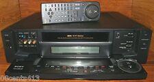 Vintage Sony (SLV-R1000) S-VHS 4-Head Hi-Fi Stereo VCR & Remote Control *REPAIR