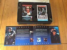 Retro 90's T2 Terminator Box Set Schwarzenegger VHS Limited Edition Tin Booklet