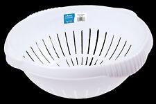 Wham Cuisine Colander Strainer Basket BPA Free White 30cm 12386