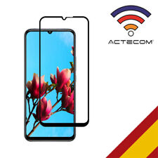 ACTECOM PROTECTOR PANTALLA Xiaomi Mi 10 Lite NEGRO completo CRISTAL TEMPLADO
