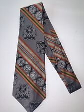Men's Vintage 1970's 4� Wide Neck Tie