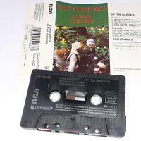 EURYTHMICS IN THE GARDEN 1982 CASSETTE TAPE ALBUM 80S POP ANNIE LENNOX