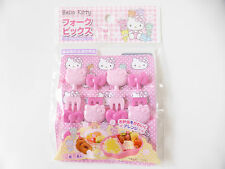 New product! Hello Kitty KAWAII Food Fork Picks Bento Accessories FREE SHIPPING