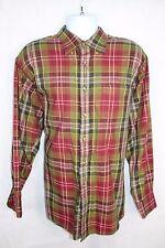 F. A. MacCluer Darm Multi-Color Plaid Button Down Shirt, Men's XL