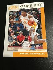 2019-20 Contenders Draft Picks Game Day Ticket - Admiral Schofield #32 Tennessee