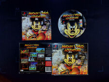 MICKEY'S WILD ADVENTURE DISNEY BIG BOX PS1 PSX PLAYSTATION 1 PAL ESPAÑA