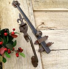 Antik-Verriegelung, Tür und Gartentor Heberiegel, Dänischer Torriegel, Riegel