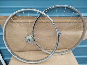 Schwinn Approved Stingray Or Phantom Bicycle Script Front Hub Dust Cover Set