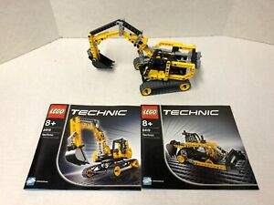 Lego Technic 8419 Excavator Complete with instructions