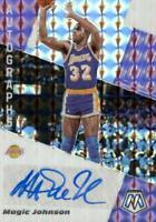 Magic Johnson 2019-20 Mosaic Autographs Prizm Auto Los Angeles Lakers #AM-MJN