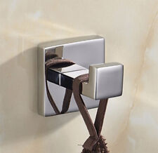 Bathroom Single Coat Robe Hook Wall Mount, Brushed SUS304 Stainless Steel Modern