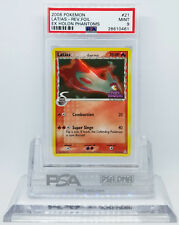 Pokemon EX HOLON PHANTOMS LATIAS #21 REVERSE HOLO FOIL RARE CARD PSA 9 MINT #*