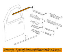 GM OEM-Door Window Sweep-Belt Molding Weatherstrip Right 84025008