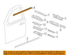 GM OEM-Door Window Sweep-Belt Molding Weatherstrip Left 23227167