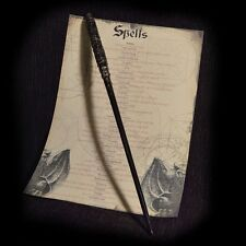 Severus Snape Wand with Spell list Harry Potter!