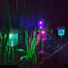 12 X SOLAR LIGHTS COLOUR CHANGING LED OUTDOOR GARDEN LIGHTING DECORATION