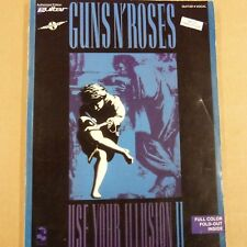 songbook GUNS N' ROSES use your illusion 2, 1991, vocal guitar