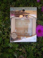PHYSICIANS FORMULA NUDE WEAR POWDER GLOWING NUDE FACE POWDER, #6218 MEDIUM