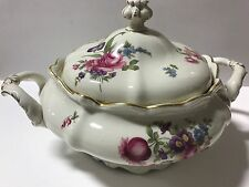 ROSENTHAL CONTINENTAL POMPADOUR R 310 Floral pattern ROUND COVERED VEGETABLE