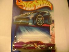 HOT WHEELS 1959 CADILLAC GUITAR WARS 1/64 SCALE MINT ON CARD 2003 ISSUE