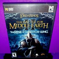 Lord of the Rings: The Battle for Middle Earth II Expansion Pack W/Key PC B582