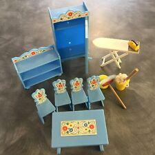 Old Plastic Kitchen Dolls House Furniture