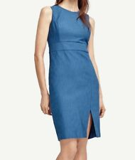 NWT Ann Taylor Textured Sheath Dress Size 6