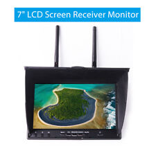 """5.8Ghz Dual Diversity 40CH 7"""" TFT LCD FPV Receiver Monitor For DJI RC Drone Quad"""